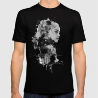 Daenerys Mens Fitted Tee Black SMALL