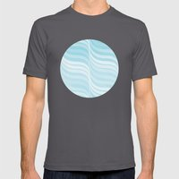 Currents Mens Fitted Tee Asphalt SMALL