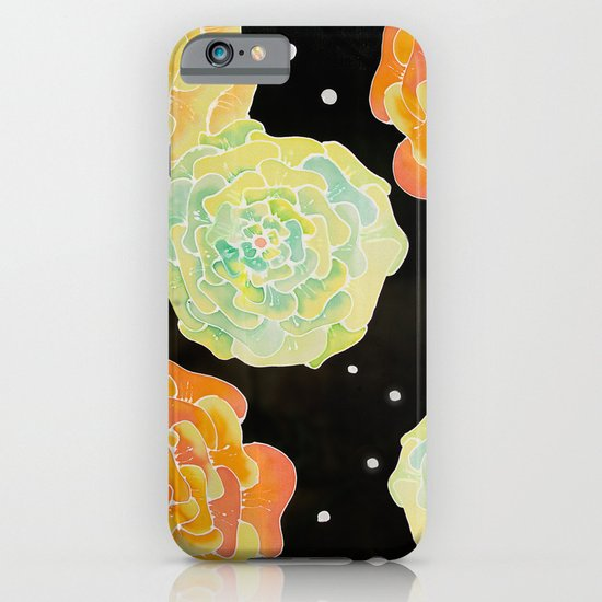 Lighted Flowers iPhone & iPod Case