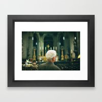 Take a moment Framed Art Print