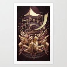 Satanic Decalcomania Art Print