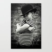 Juvenile Jazz 4 Canvas Print