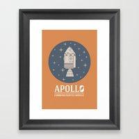 Apollo V1 Framed Art Print