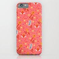 Sailor Mars Pattern / Sa… iPhone 6 Slim Case