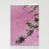 Blossom Pink Stationery Cards