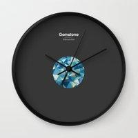 Gemstone - Adamantium Wall Clock