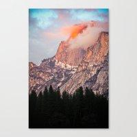 Yosemite Flare Canvas Print