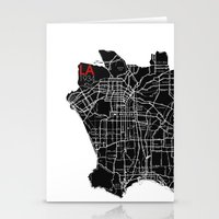 Los Angeles 1934 Stationery Cards