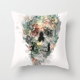 Throw Pillow - Momento Mori XIII - RIZA PEKER