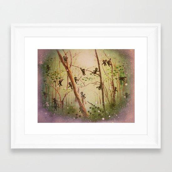 little spirits Framed Art Print