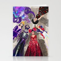 Wicked Queens. Stationery Cards