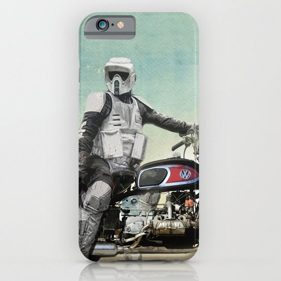 Looking for the drones, VW Scout Trooper Motorbike iPhone & iPod Case