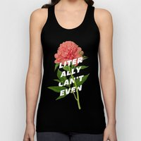 Literally Can't Even Unisex Tank Top