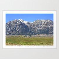 Minden, Nevada Art Print