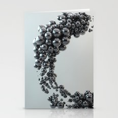 Black Bubble Stationery Cards