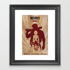 Bioshock Infinite - Booker and Elizabeth Framed Art Print