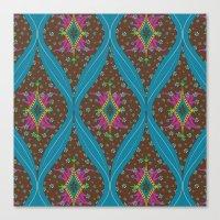 Teardrop Pattern Canvas Print
