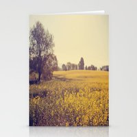 Vintage Field  Stationery Cards