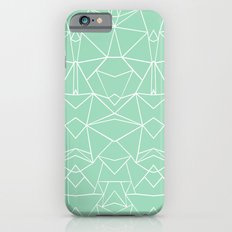 Abstract Mirror Mint Slim Case iPhone 6s