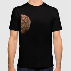 Golden Leo Mens Fitted Tee SMALL Black