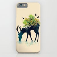 iPhone Cases featuring Watering (A Life Into Itself) by Budi Kwan