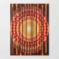 Hidden Sun Canvas Print