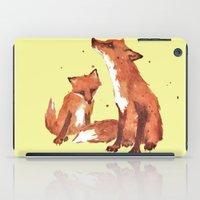 Lemon Foxes iPad Case