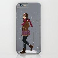 Still Snowing iPhone 6 Slim Case