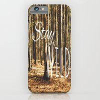iPhone & iPod Case featuring Stay Wild by Beckah Carney Photography