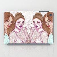 Gigi Hadid & Jourdan Dunn Maybelline NY   iPad Case