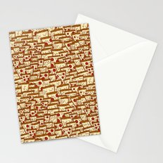 TONS OF SEAMLESS PIZZA Stationery Cards