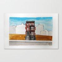 Last House Standing Canvas Print
