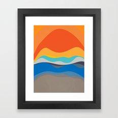 Meet You Here Framed Art Print