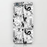 Monsters ink iPhone 6 Slim Case