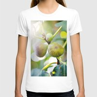 Figs Womens Fitted Tee White SMALL