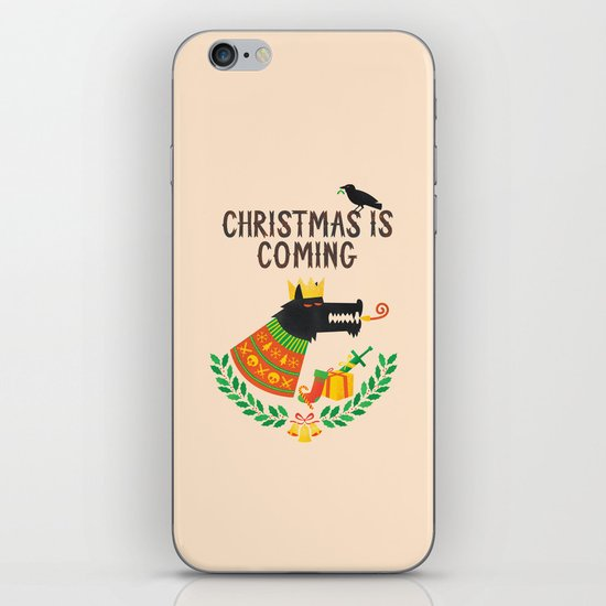 Christmas is coming iPhone & iPod Skin