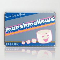 sweet soft and gooey marshmallows Laptop & iPad Skin