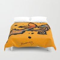 In My Shoes Duvet Cover