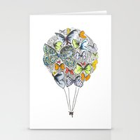 Bows & Butterflies Stationery Cards