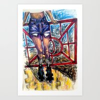Teenage Sk8land Art Print