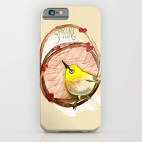 iPhone & iPod Case featuring Spring birdy / Nr. 1 by dorc