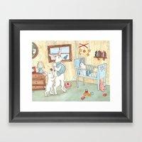 Nursery Framed Art Print