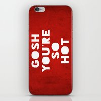 Gosh (HOT) iPhone & iPod Skin