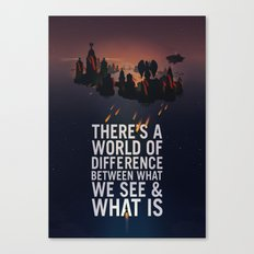 Bioshock Infinite Quote Canvas Print