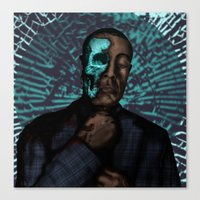 Under The Face Canvas Print