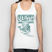 DEATH FROM ABOVE (green) Unisex Tank Top