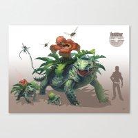 Pokemon-Venusaur Canvas Print
