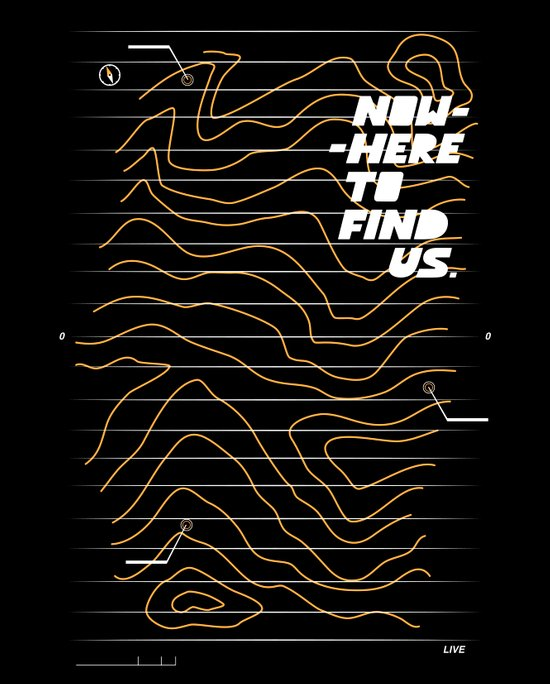 Nowhere to Find Us Art Print