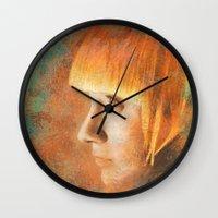 Citric Burn Wall Clock
