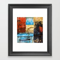 Moroccan Textures Montag… Framed Art Print